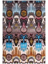 Ikat Runner Rug Buy Hand Knotted Ikat Rugs Online At Discount Price In Usa Rugsville
