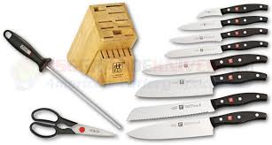 zwilling j a henckels twin signature 11 piece kitchen knife block set