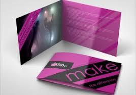 artistic brochure art gallery artist brochure template design