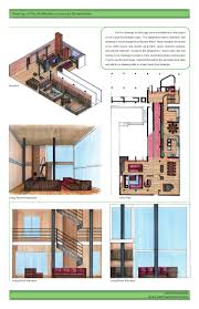 floor plan with perspective house interior design portfolio