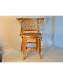 Bentwood Bistro Chair Christmas Shopping Sales On Vintage Blonde Bentwood Arm Chair