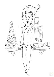 printable elf coloring pages elf on the shelf coloring pages coloring pages
