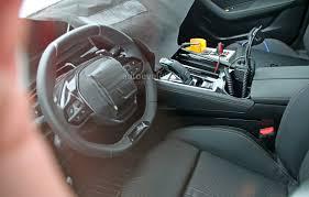spyshots 2018 peugeot 508 interior partially revealed autoevolution