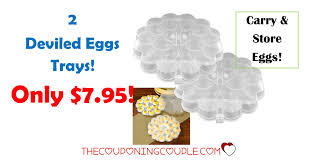 chef buddy deviled egg trays 2 chef buddy deviled eggs trays only 7 95
