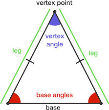 properties of isosceles triangles brilliant math u0026 science wiki
