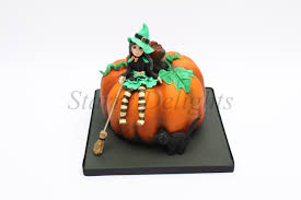 Halloween Witch Cake by The Pumpkin And The Little Witch Starry Delights