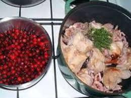 cuisiner les airelles lapin au vinaigre et aux airelles recette lapin au vinaigre