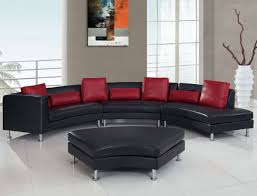 Unique Living Room Furniture by Accessories Breathtaking Living Room Decoration Using Red Leather