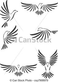dove illustrations and clip art 15 872 dove royalty free