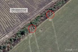 putin war google earth shows actual attack of russian army on
