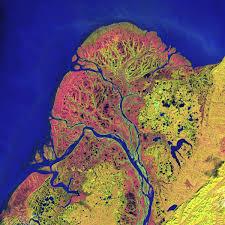 Yukon River Map Yukon Delta U2013 Eyes Upon Earth