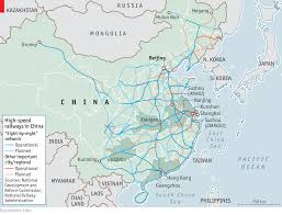 A Train Map China Has Built The World U0027s Largest Bullet Train Network