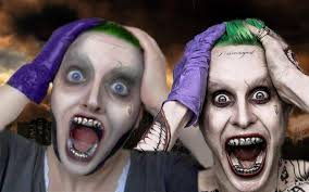 squad make up joker jared leto ft stellapolaregirl youtube