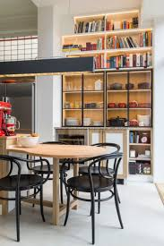 71 best fixed furniture by philip theys images on pinterest small breakfast table attached to the kitchen island structure in solid oak and surface in
