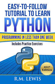python tutorial ebook python easy to follow tutorial to learn python programming in less