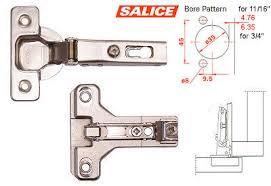 Kitchen Cabinet Hinge Template Salice America Inc C2p9a99 Bau3r19 Salice Concealed Hinge