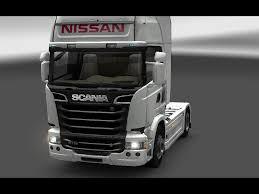 nissan trucks nissan forklift truck skin pack v1 0 ets 2 mods euro truck