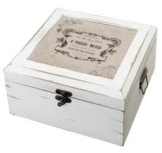 wedding wishes card box this true antique white card box is the place to