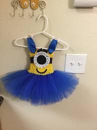 custom minion tutu dress by crafting princesses diy minion tutu