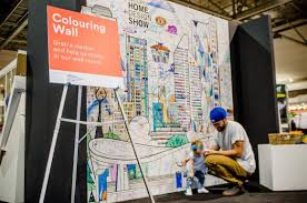 Murals Your Way by Add Some Color To Your Trade Show U003e Decorating With Wallpaper Wall