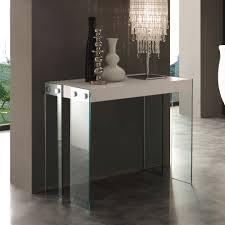 Table Verre Design Italien by Tables Consoles Design Italien Fixes Et Extensibles