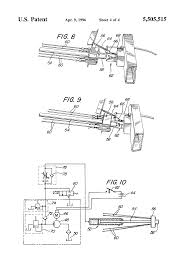 patent us5505515 folding trailer with hydraulic lift system