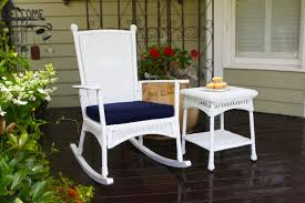 How To Fix Wicker Patio Furniture - relaxing patio rocking chair