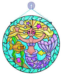 amazon com melissa u0026 doug stained glass made easy activity kit
