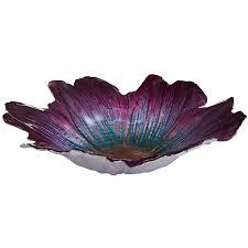 decorative bowls home decor luster flower decorative bowl purple bowls