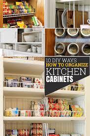 how to organize open kitchen cabinets 10 diy ways of how to organize your kitchen cabinets