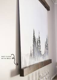 how to hang art prints mountain modern life how to make a large wall hanging
