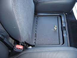 jeep custom console console vault truck and suv auto console safe by console vault