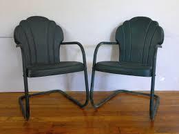 retro metal outdoor furniture simple outdoor com