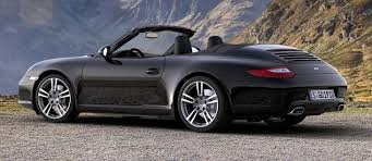 black porsche convertible 2012 porsche 911 black edition cabriolet and coupe