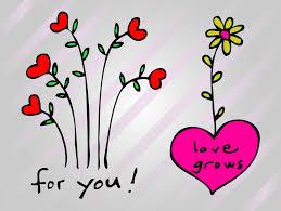 heart flowers vector art u0026 graphics freevector com