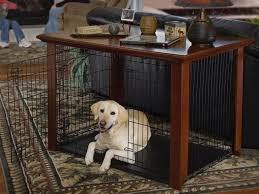 newport pet crate end table dog crate end table large apoc by elena wood dog crate end table