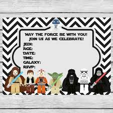 star wars birthday invitation template lilbibby com