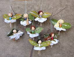 flower dolls miniature fairies ornaments