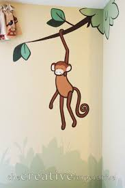 the creative imperative simple jungle mural some tips and tricks