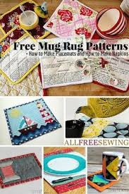 Mug Rug Designs 53 Free Mug Rug Patterns And Placemat Patterns Patterns