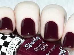 manicure monday barry m speedy quick dry sprint finish the