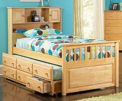 twin captains bed with bookcase headboard paxton bookcase captains trundle bed natural maple bedroom twin