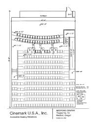 plan of medford center medford oregon auditorium 10