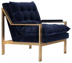 Blue Accent Arm Chair Living Room Navy Blue Accent Chairs For Taylor Mid Century Tufted
