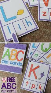 printable alphabet recognition games abc clip cards free printable abc activities early childhood