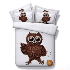 compare prices on owl bedding for a double bed online shopping