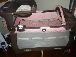 Graco Pack And Play With Changing Table Wonderful Pink And Brown Graco Pack N Play With Changing Table
