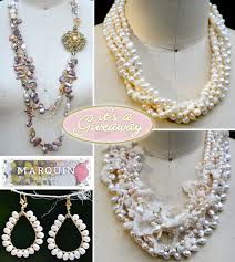 handmade necklace design images Giveaway 100 to shop for handmade jewelry from marquin designs jpg