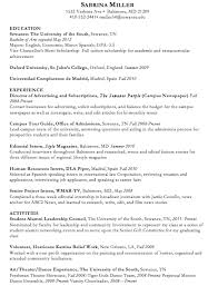 Sample Resume For On Campus Job by Survival Guide Resumes College Magazine