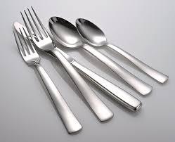 modern flatware stainless steel flatware set by mosesmo modern